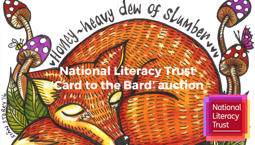 Card to the Bard, National Literacy Trust