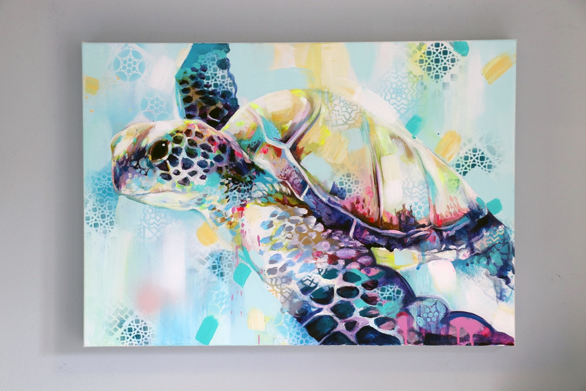SIAN STOREY ART TURTLE PAINTING 4 (3).JPG
