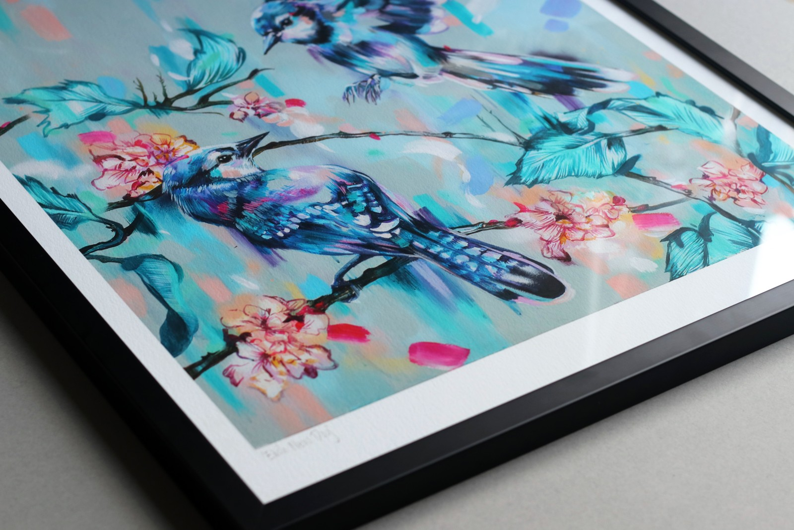 Expertly framed - Conveniently ready to hang in your home, the black gallery-style solid wood and glass frame is an optional choice, making framing straightforward for you.Framed prints are £220