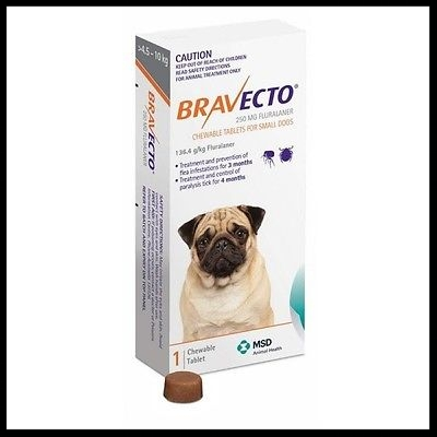 flea tick chewable pill