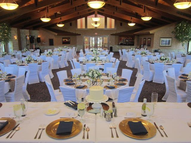 Wedding Reception at the Crown Room