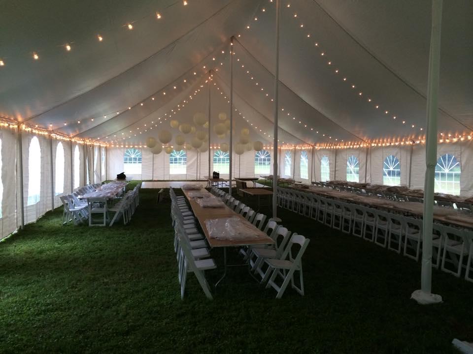 Tent Rental & Lighting by Geyer Wedding & Event Rentals