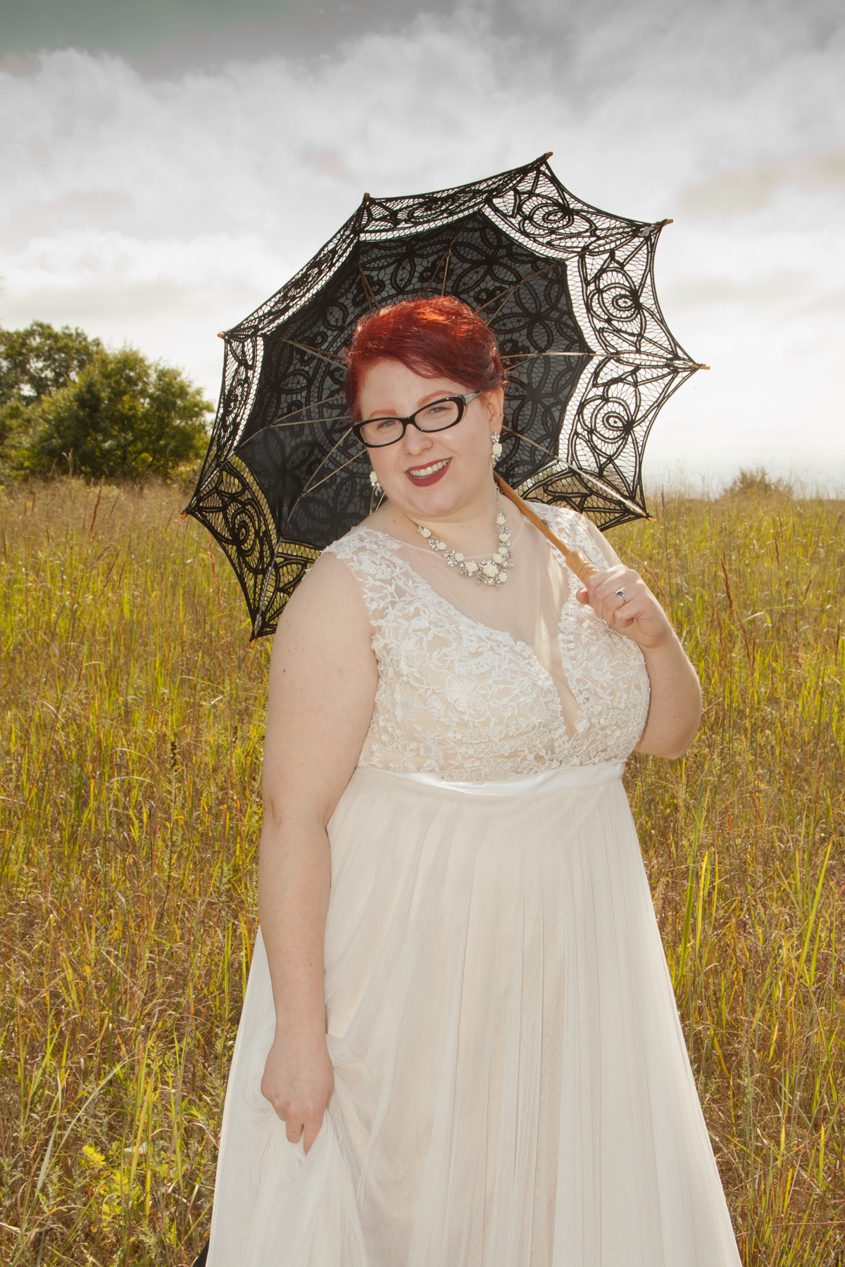 Ashley's unique style and her own special props made for a wedding experience not be forgotten.