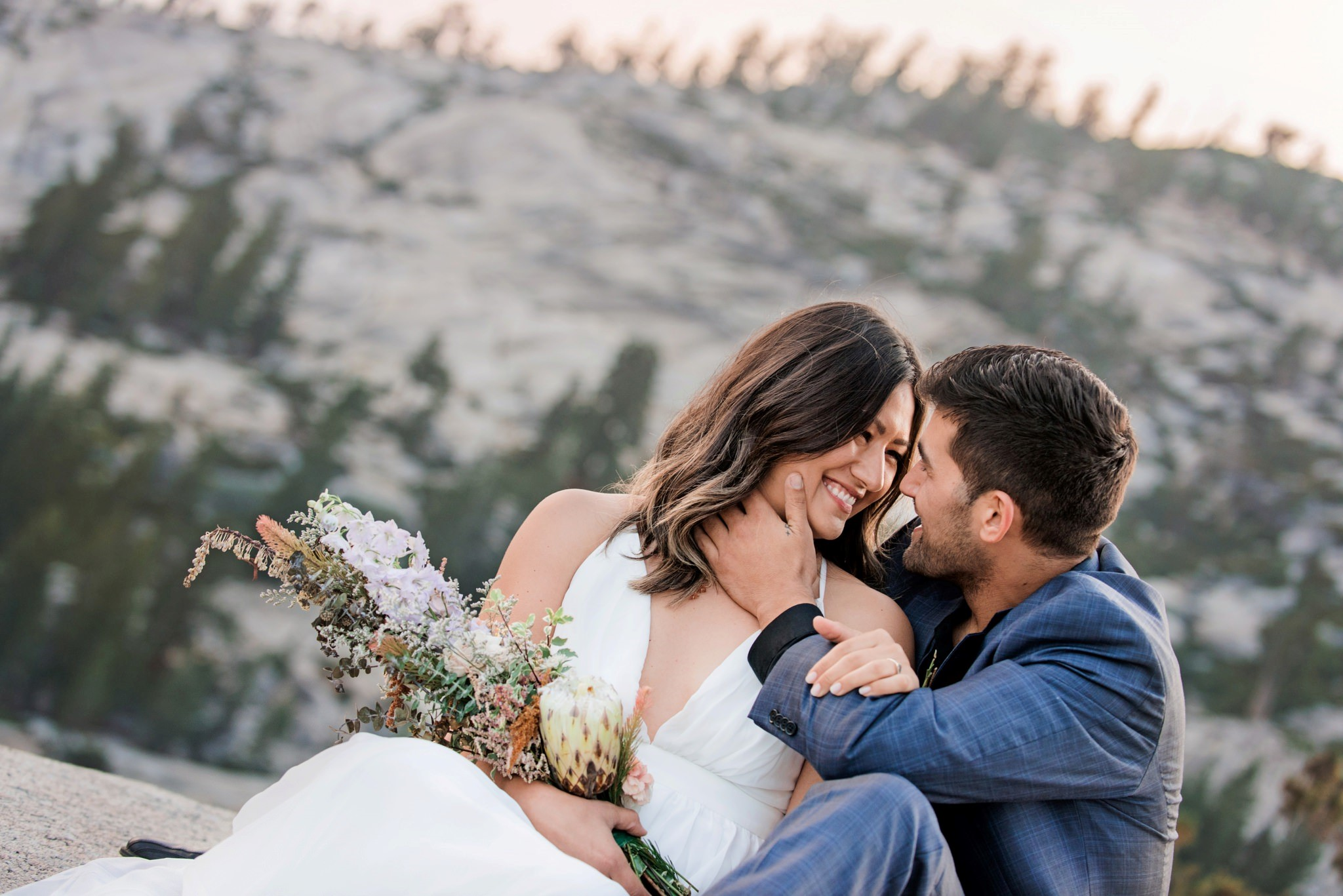 This beautiful couple live in San Diego and are the perfect match for one another
