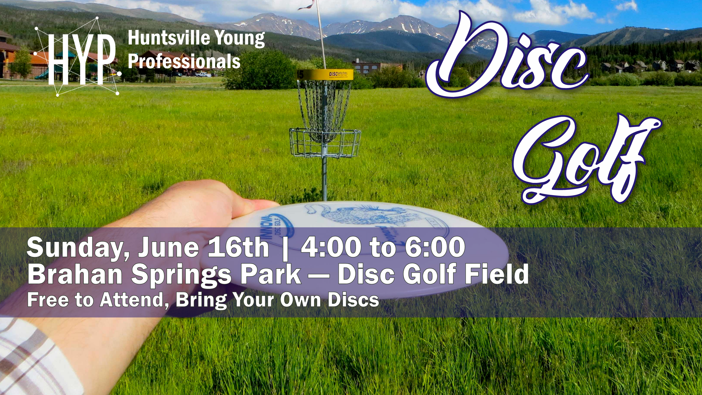 Sport 4 is going to be Disc Golf. Nothing like an easy Sunday stroll around the disc golf course. This event is free to attend, but you will need to bring your own discs or borrow some from a friend. Be sure to join the Facebook  Event  to stay up to date.