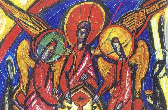 Trinity Sunday - Artist: Alek Rapaport