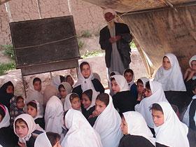 Tent Classroom in Kandahar