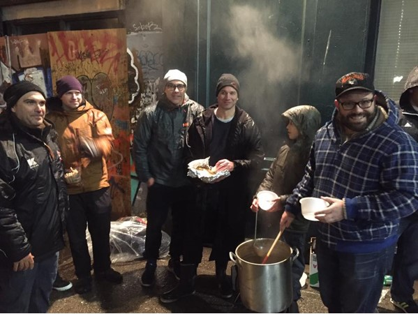 Rugby Soup Kitchen Day Dec 2016  - photo credit Jemal Paul