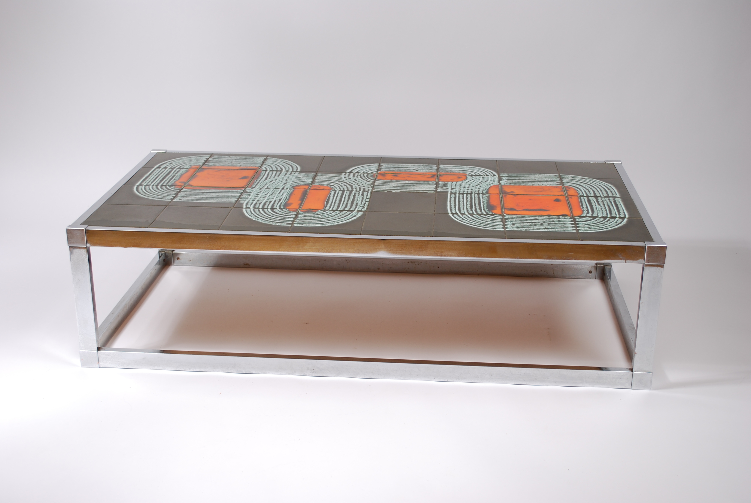 Tile coffee table 60's, Belgium