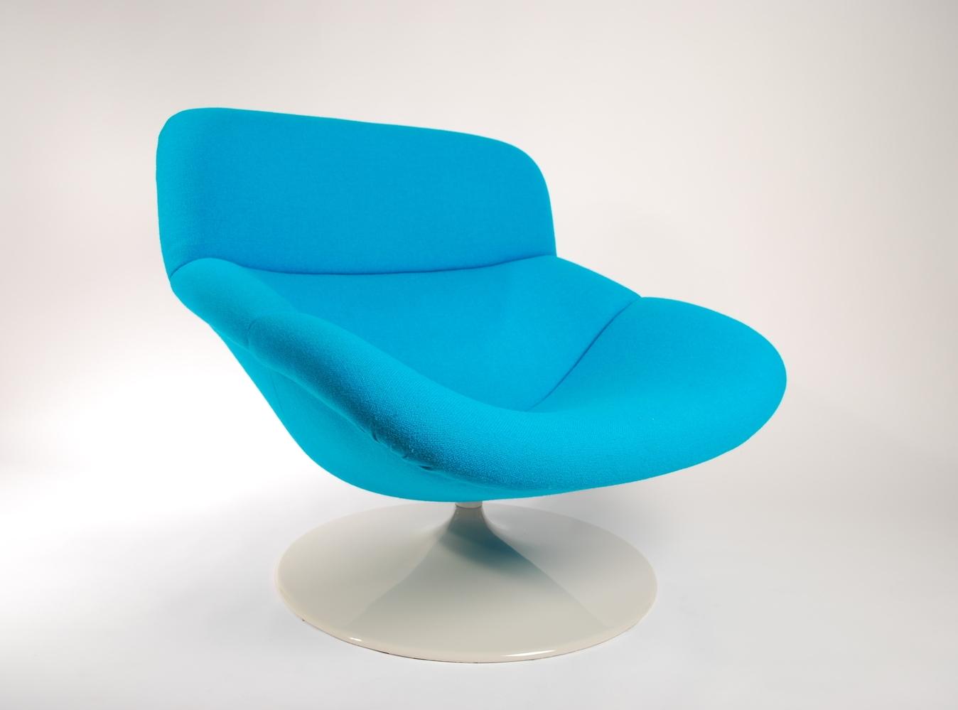 Artifort F518 Lounge swivel chair Kvadrat 850