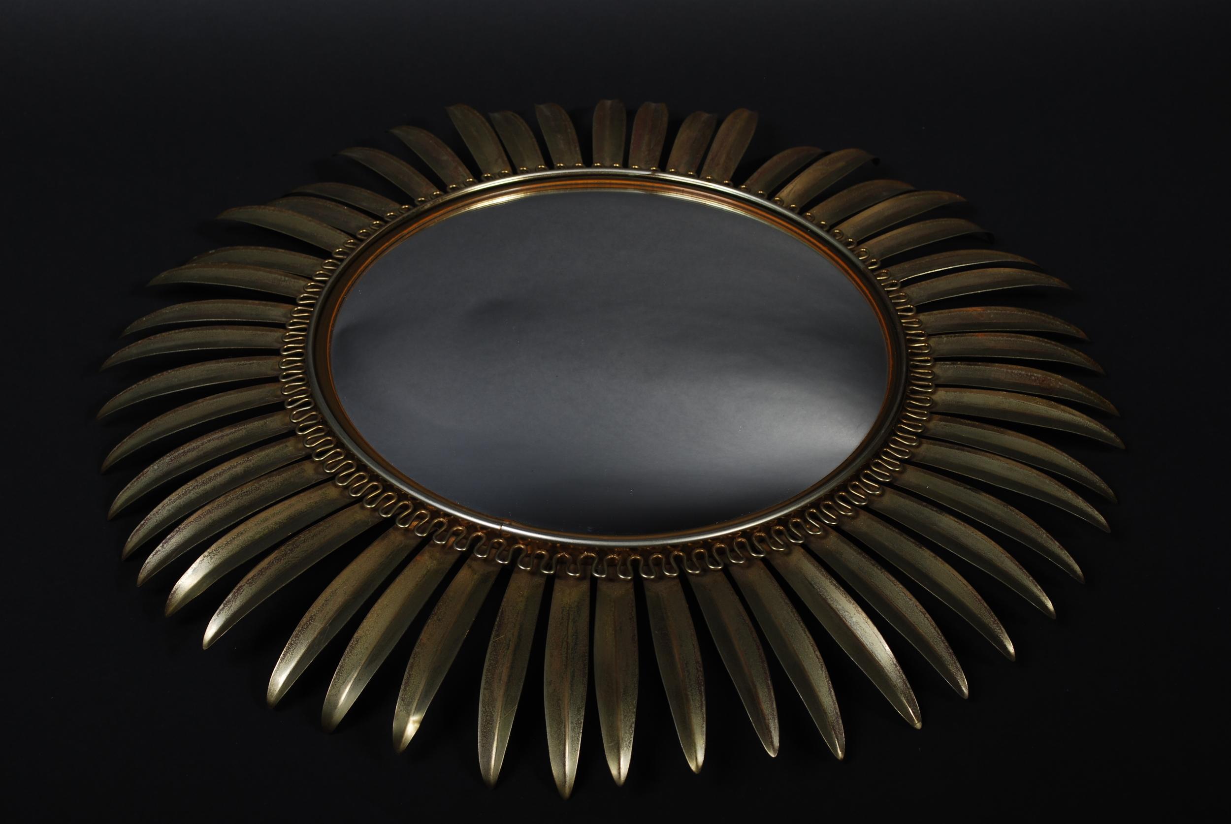 Mirror Sun, metal, vintage