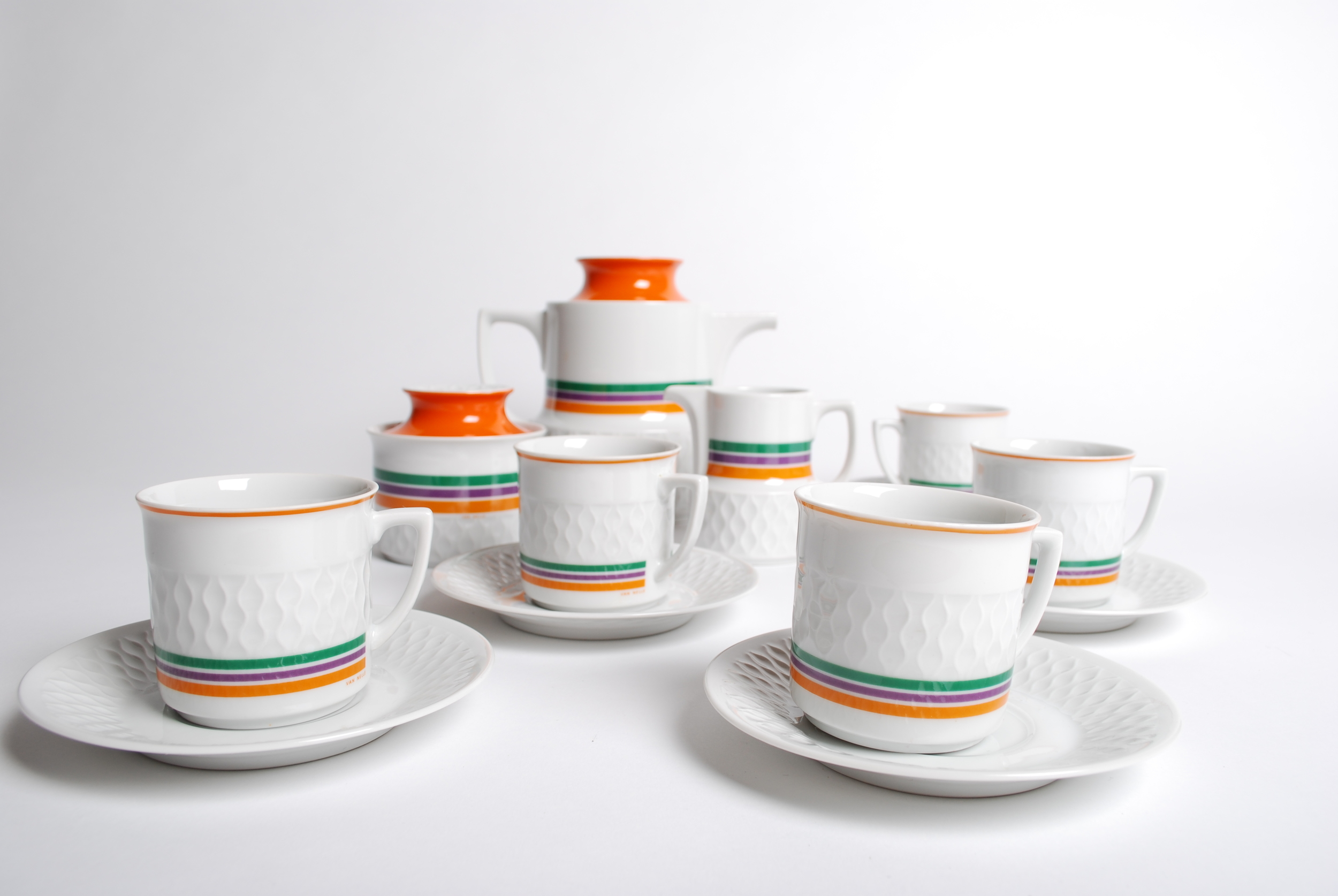 Coffee set Bavaria Schirnding for Van Nelle