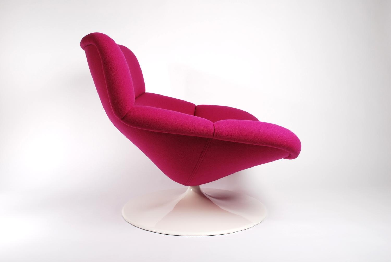 Artifort F518 Lounge swivel chair