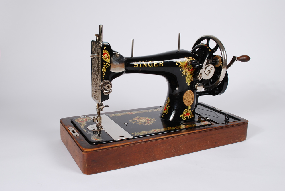 Machine cases singer sewing old Singer Sewing