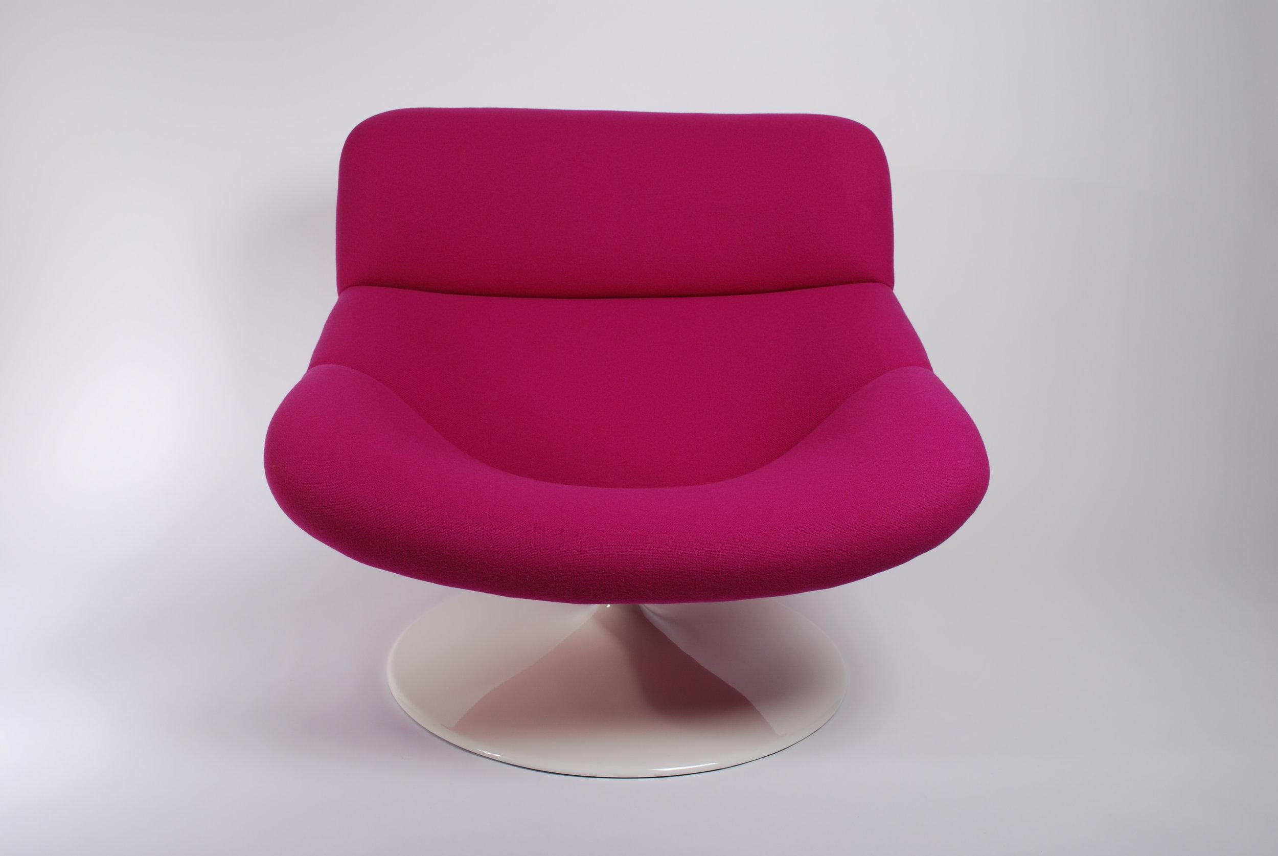 00000117 Artifort F518 Lounge swivel chair Kvadrat Pink (15).JPG
