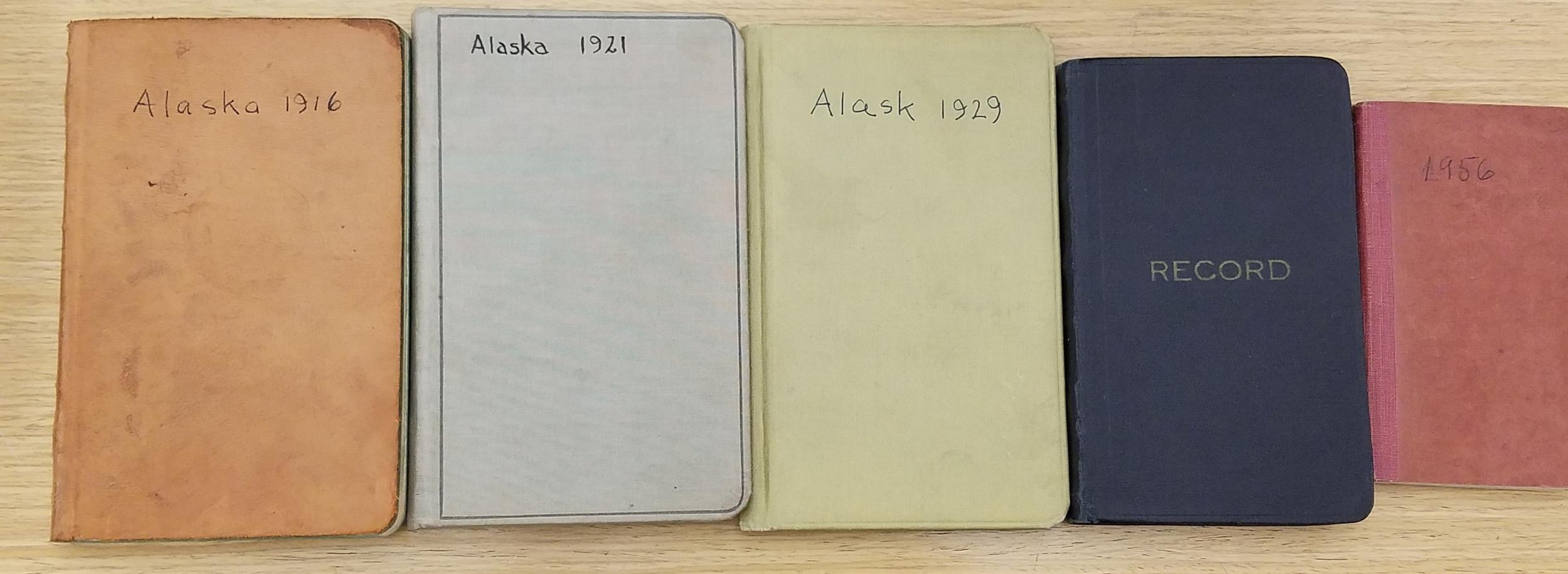 Cooper's Glacier Bay journals