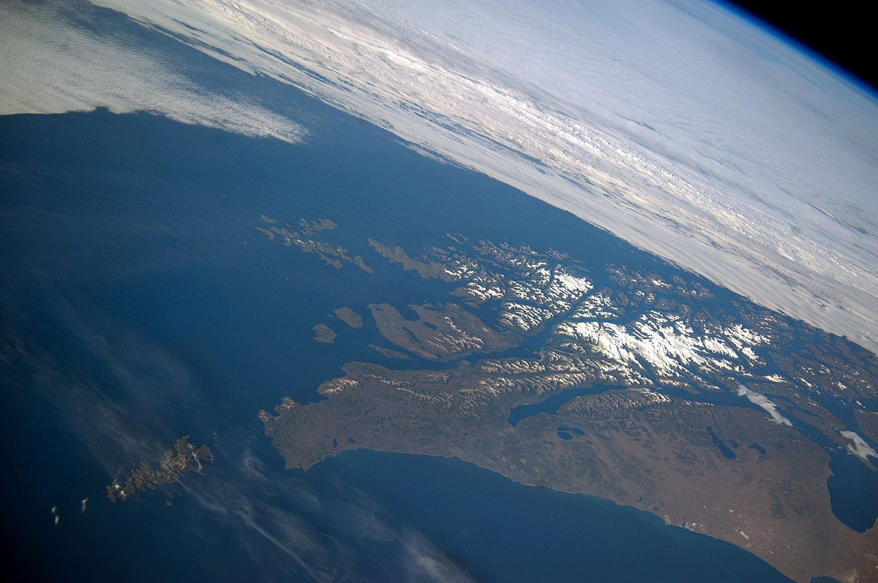 Tierra del Fuego and the Cape.