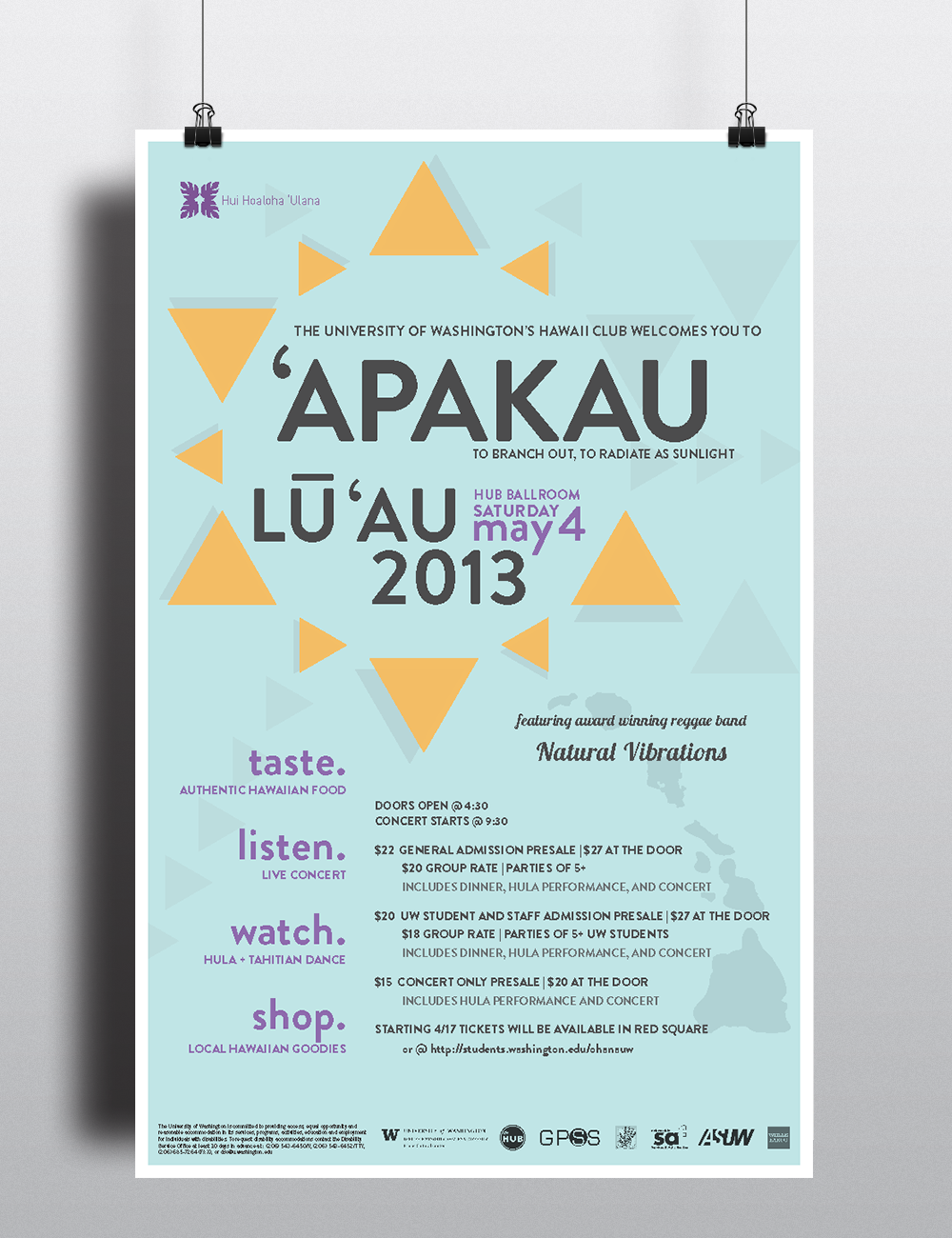 'Apakau: To branch out, to radiate as sunlight.