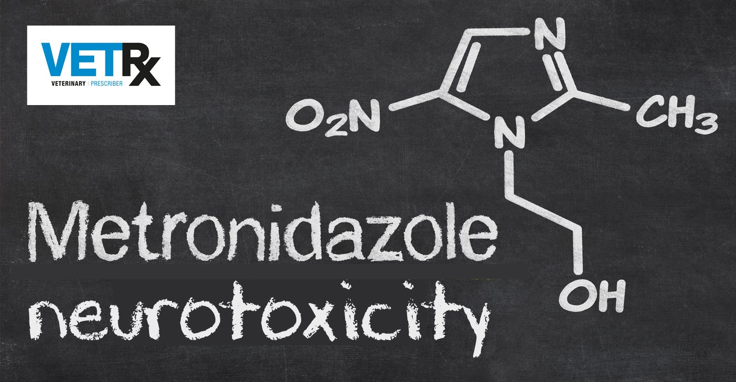 Blackboard-with-the-chemical-formula-of-Metronidazole
