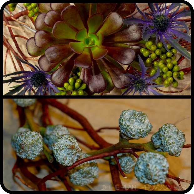 |Manzanita Trimmings + Floral Festoon detail|