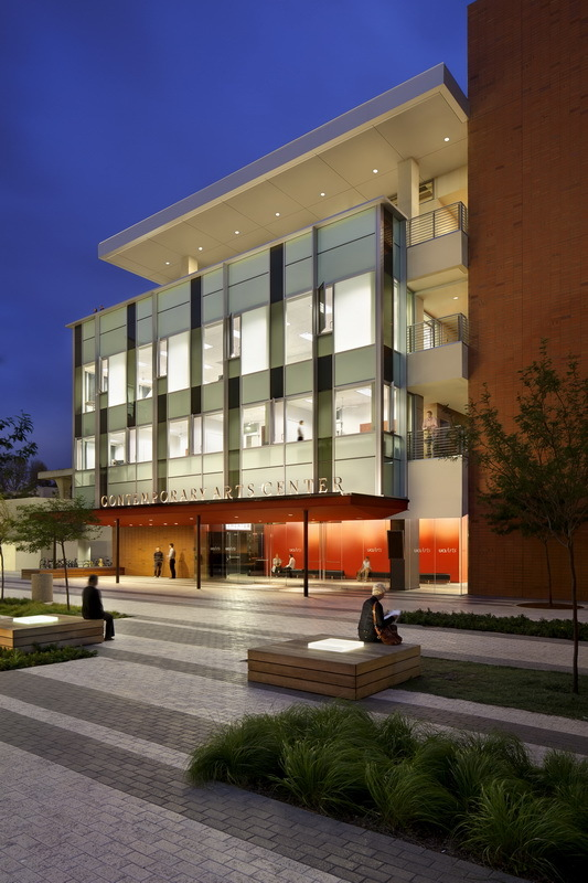 UCI Contemporary Arts Center - LEED GOLD