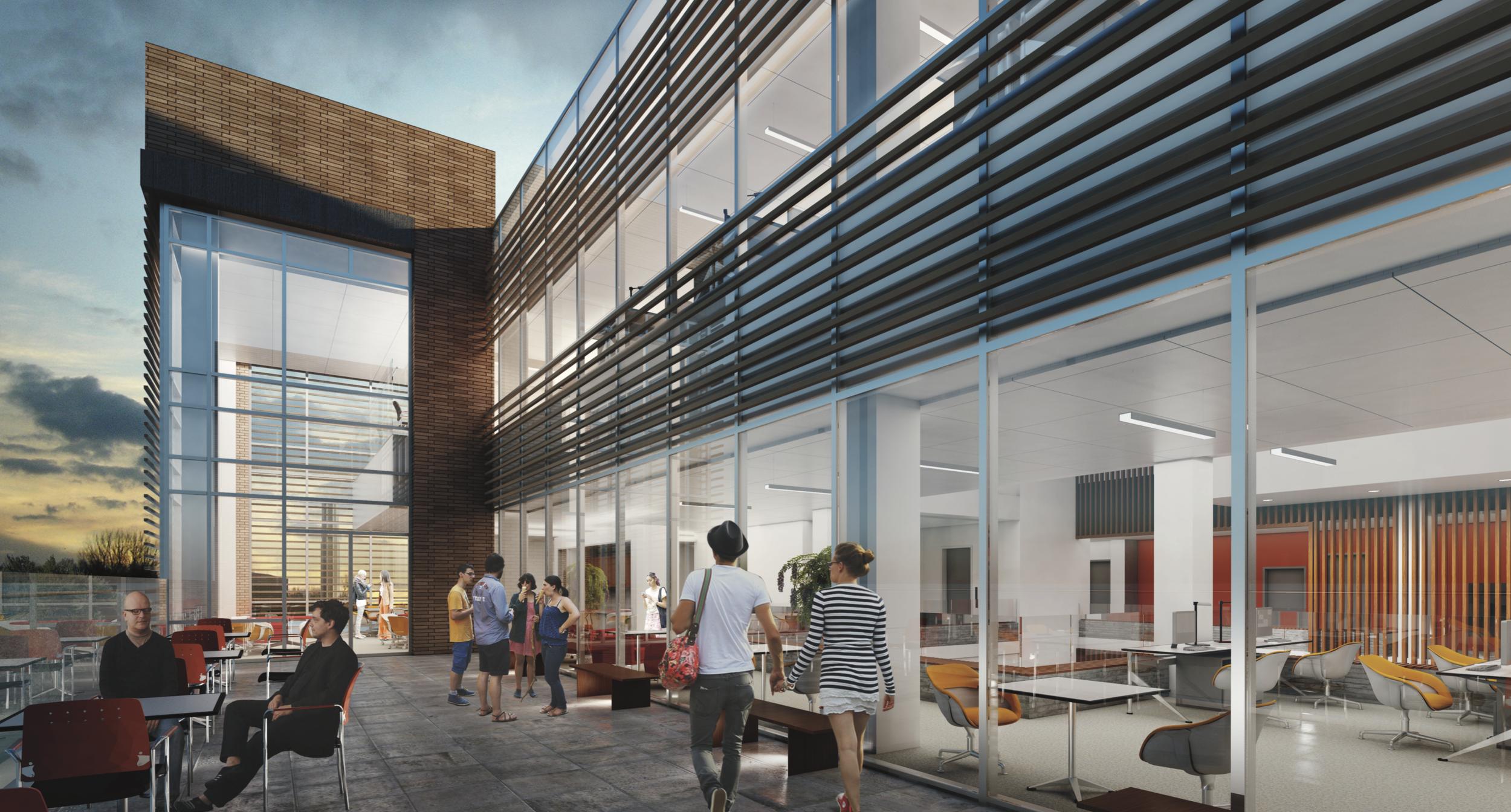 UCR Multidisciplinary Building I - LEED PLATINUM (Projected)