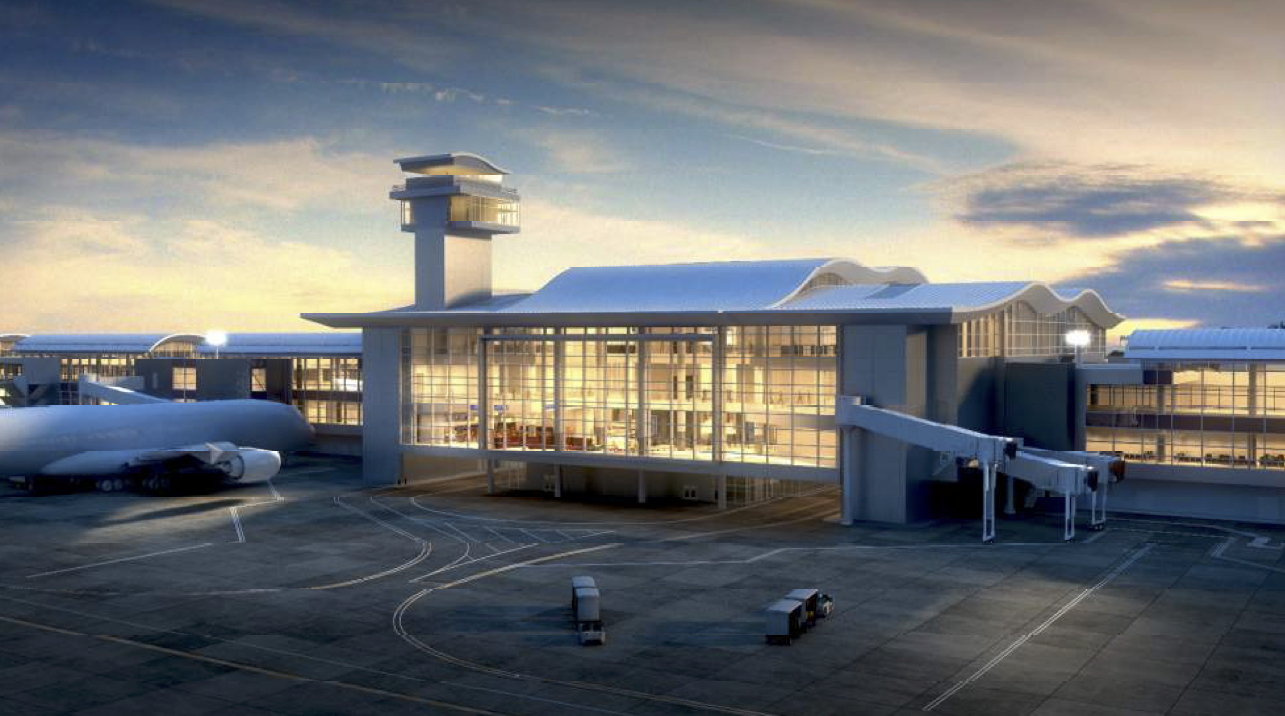 LAX Midfield Satellite Concourse - North - LEED GOLD (Projected)