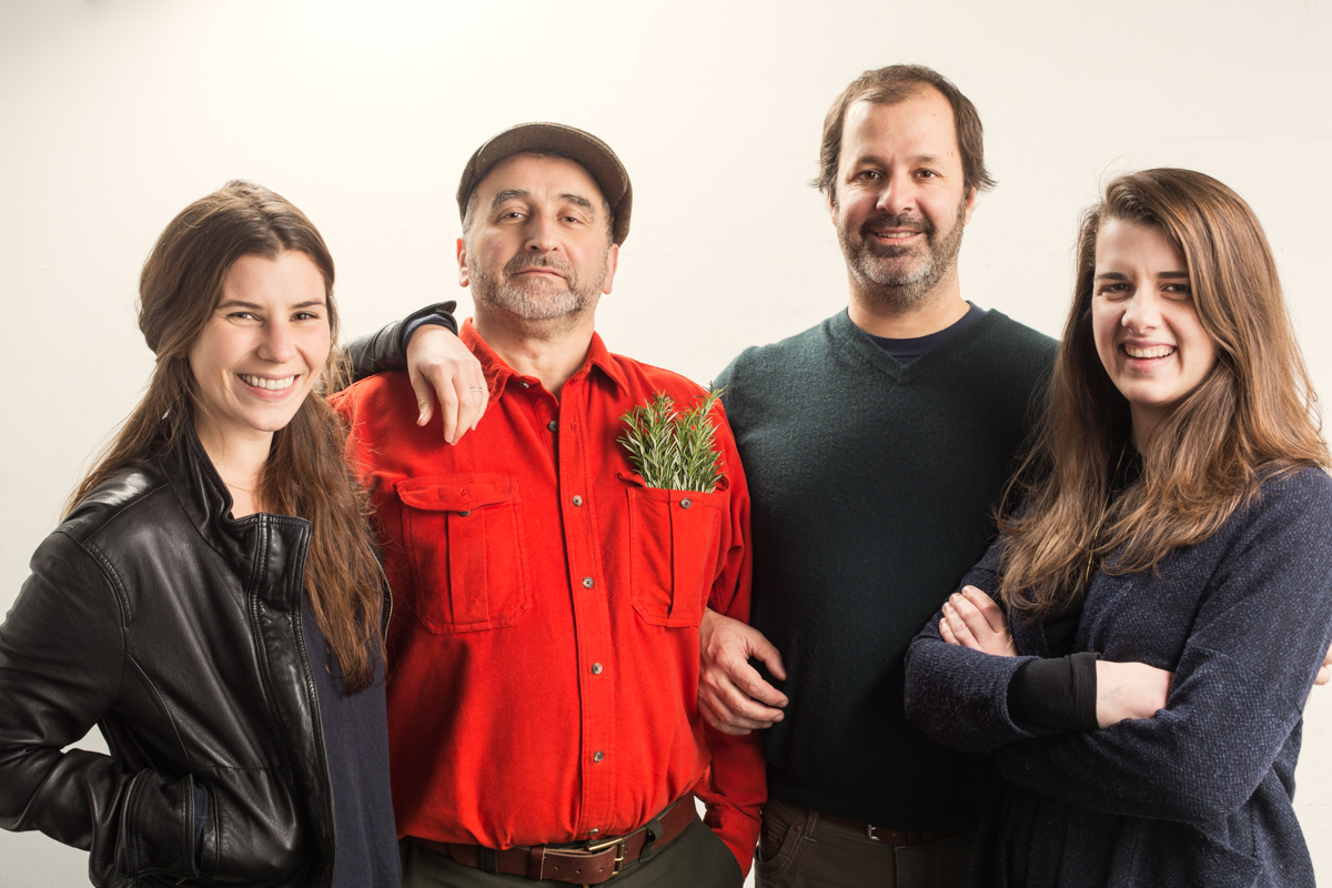 Emily Pearson, Cesare Casella, Patrick Martins, Catherine Greeley/Heritage Foods USA
