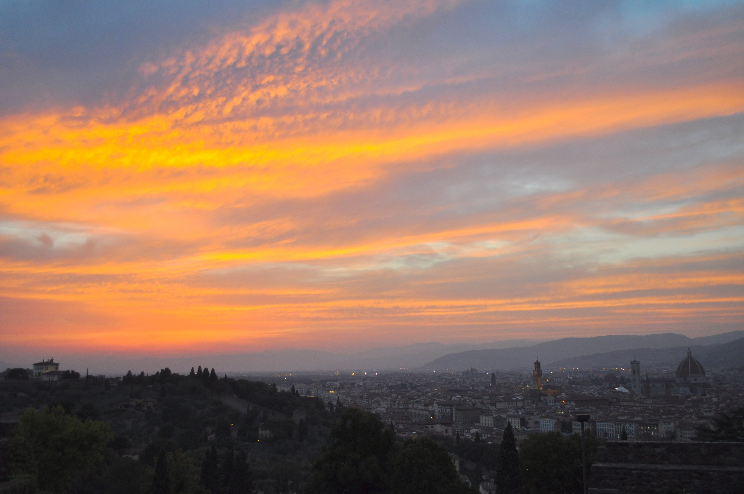 Florence Sunset T.JPG