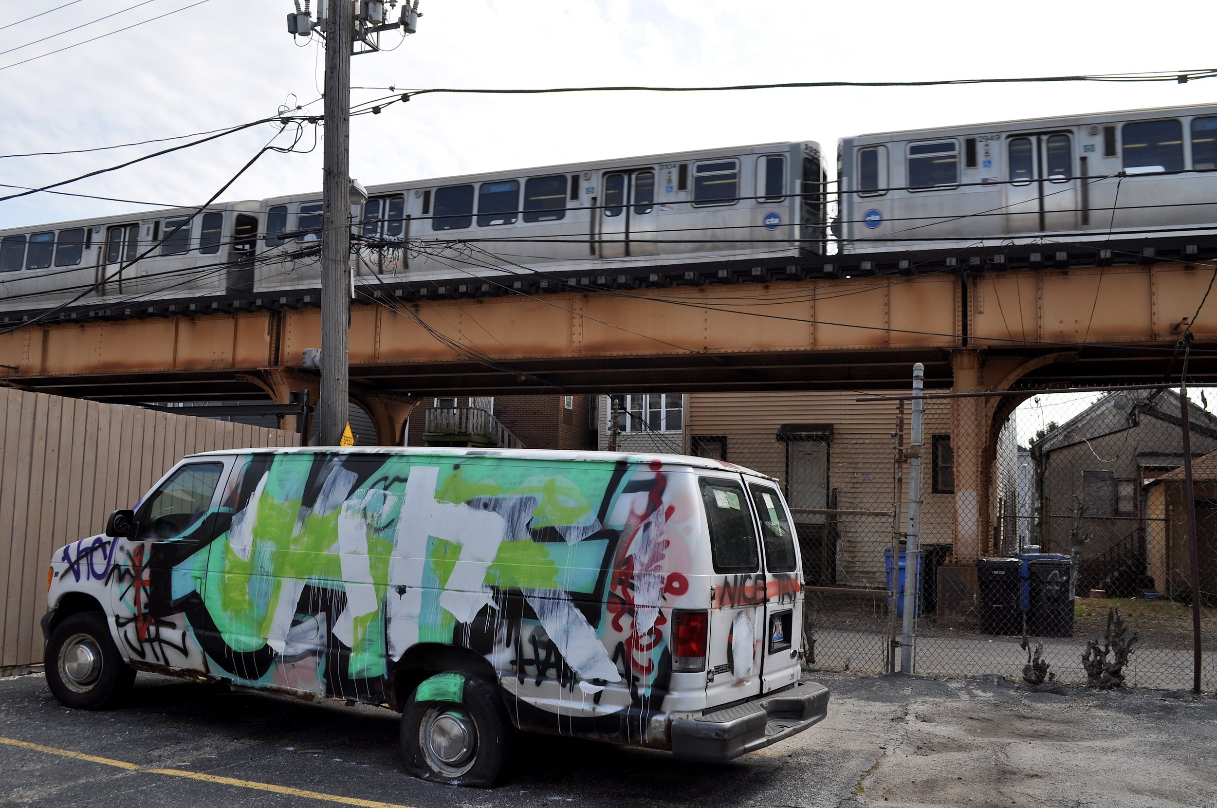 Tagged Van With Train T.JPG