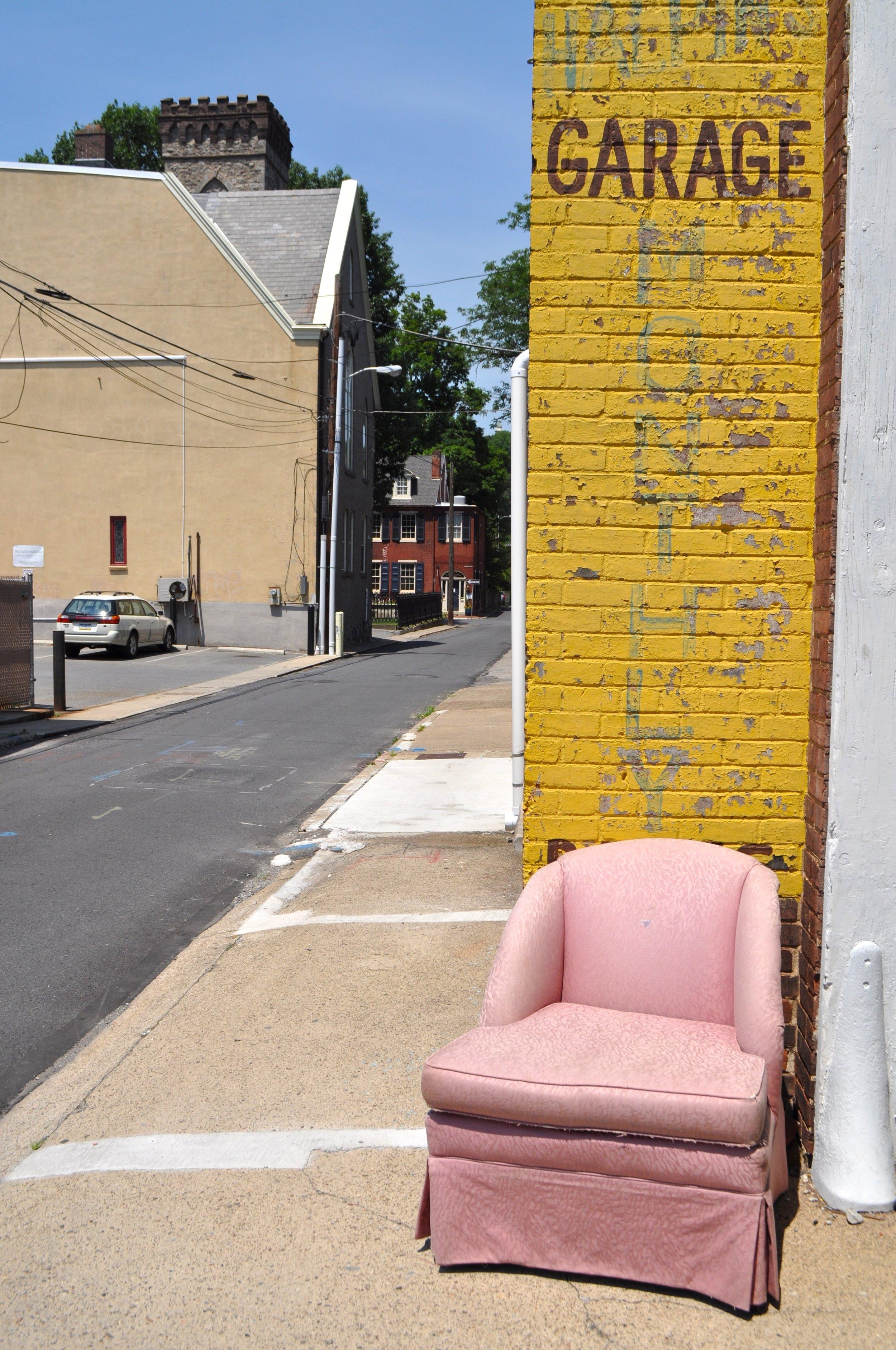 Pink Chair Garage T.JPG