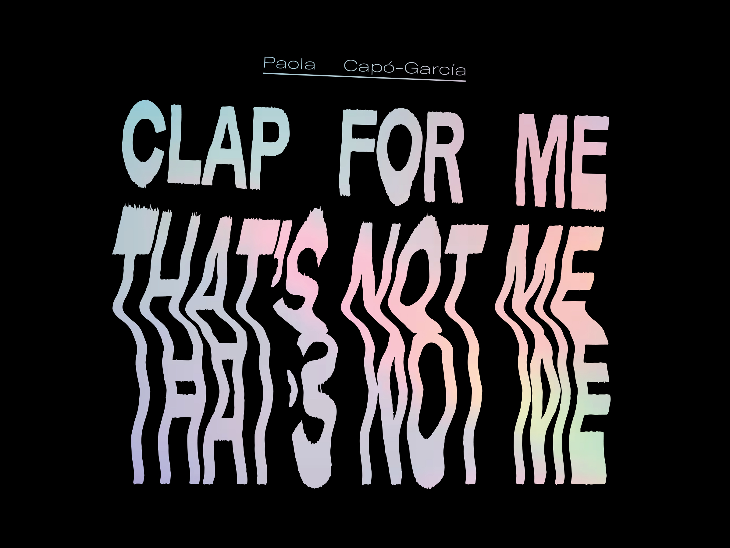 Clap For Me Front Cover.jpg