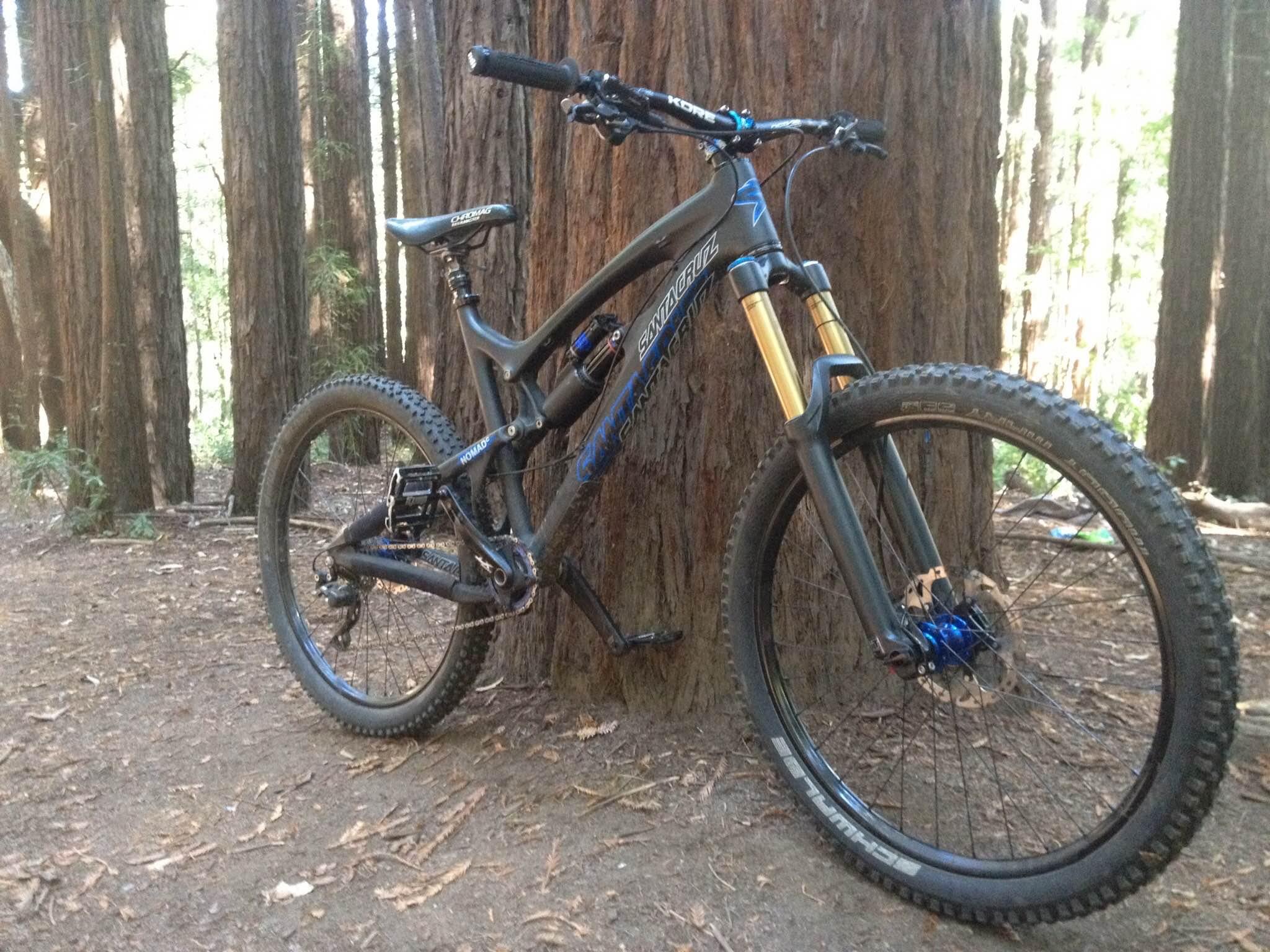 Danny Hogan's Santa Cruz Nomad