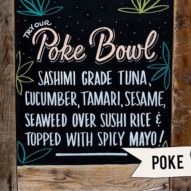 Easily the best Poke Bowl in the city 😉 come try it today!