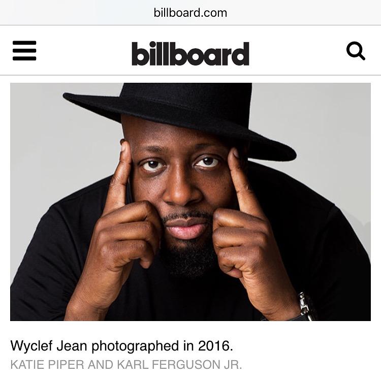 Billboard: Wyclef Jean
