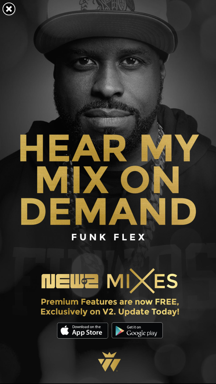 Funk Flex: Where Hip Hop Lives App (Advertisement)