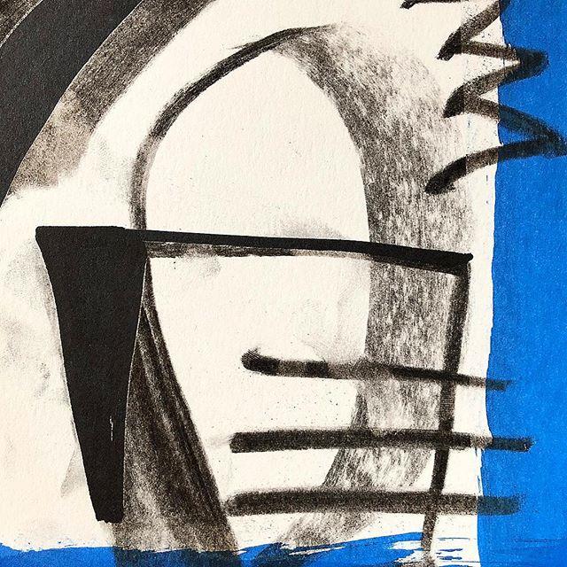 Postcard detail. Charcoal and acrylic on paper, 2019. . . . . #contemporaryarts #abstractart #modernart #fscastro #art