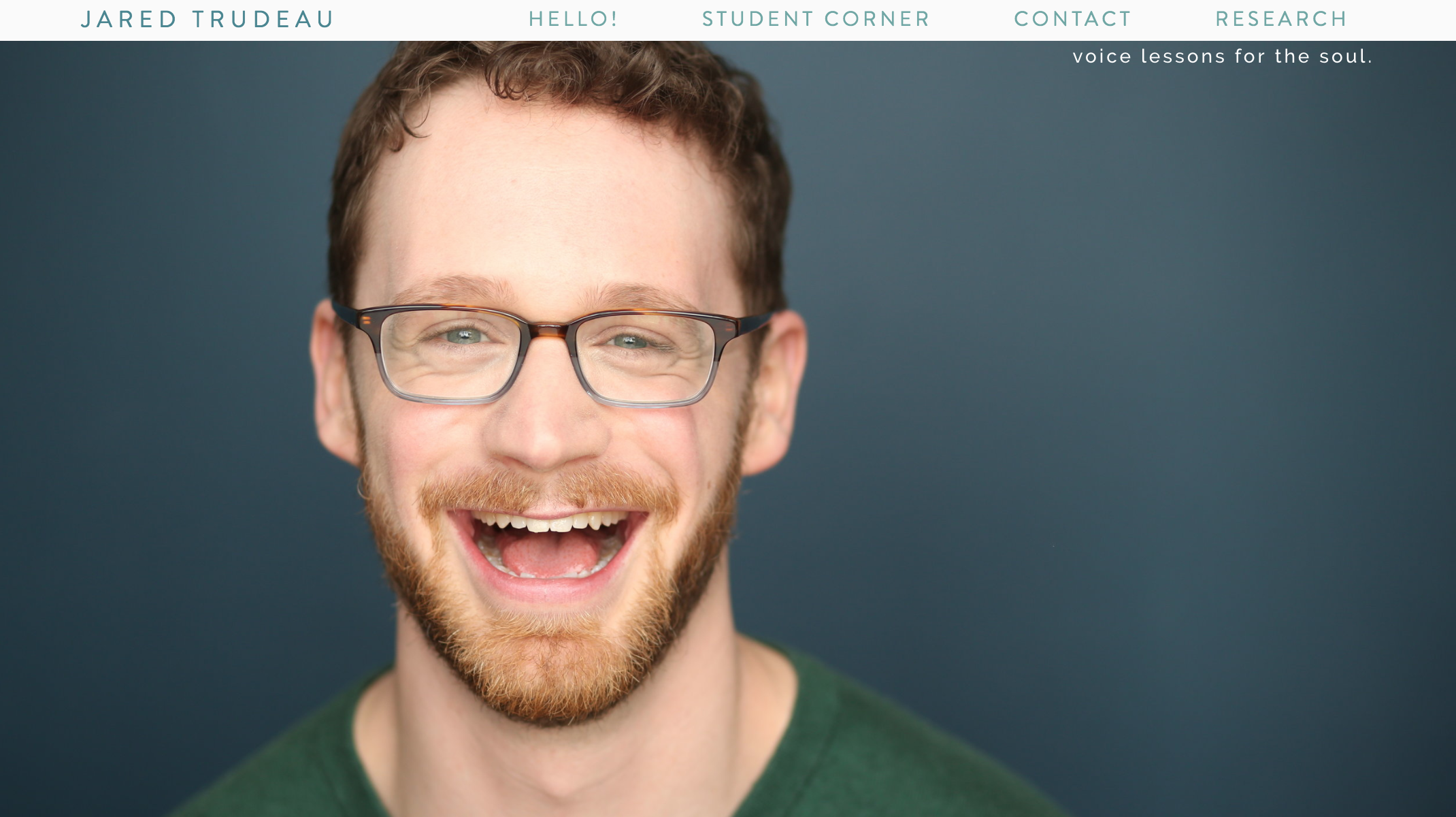 Jared-Vocal Coach - I worked with Jared to help create a site that told his story in his best light. This website comes with built in scheduling and payment processing to allow the business end of his life to be much more streamlined. Check it out- and contact him for a voice lesson while you are at it!