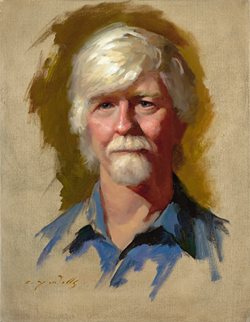 Terry - life study    18 x 14    oil on canvas