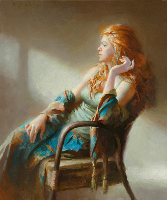 Morning Shadows 24 x 20, oil on canvas