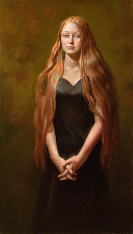 Sarah Danielle   46 x 26   oil on canvas