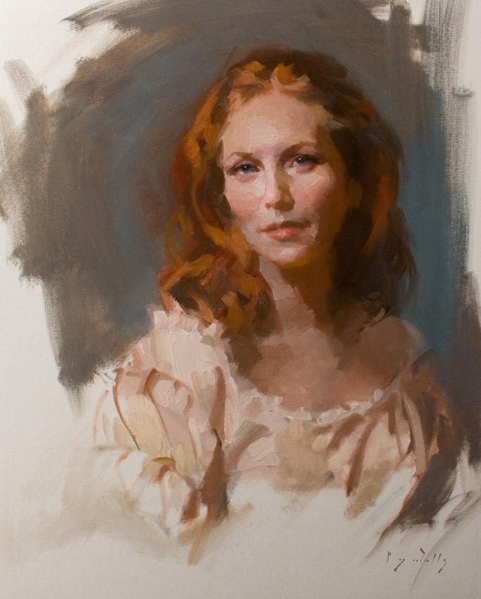 Daphne  19 x 15  oil on canvas
