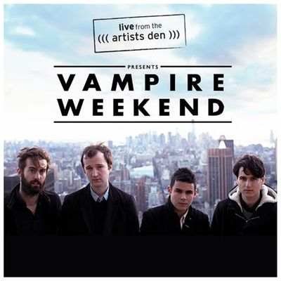 "Vampire Weekend - ""Step"" - Live From the Artists Den"