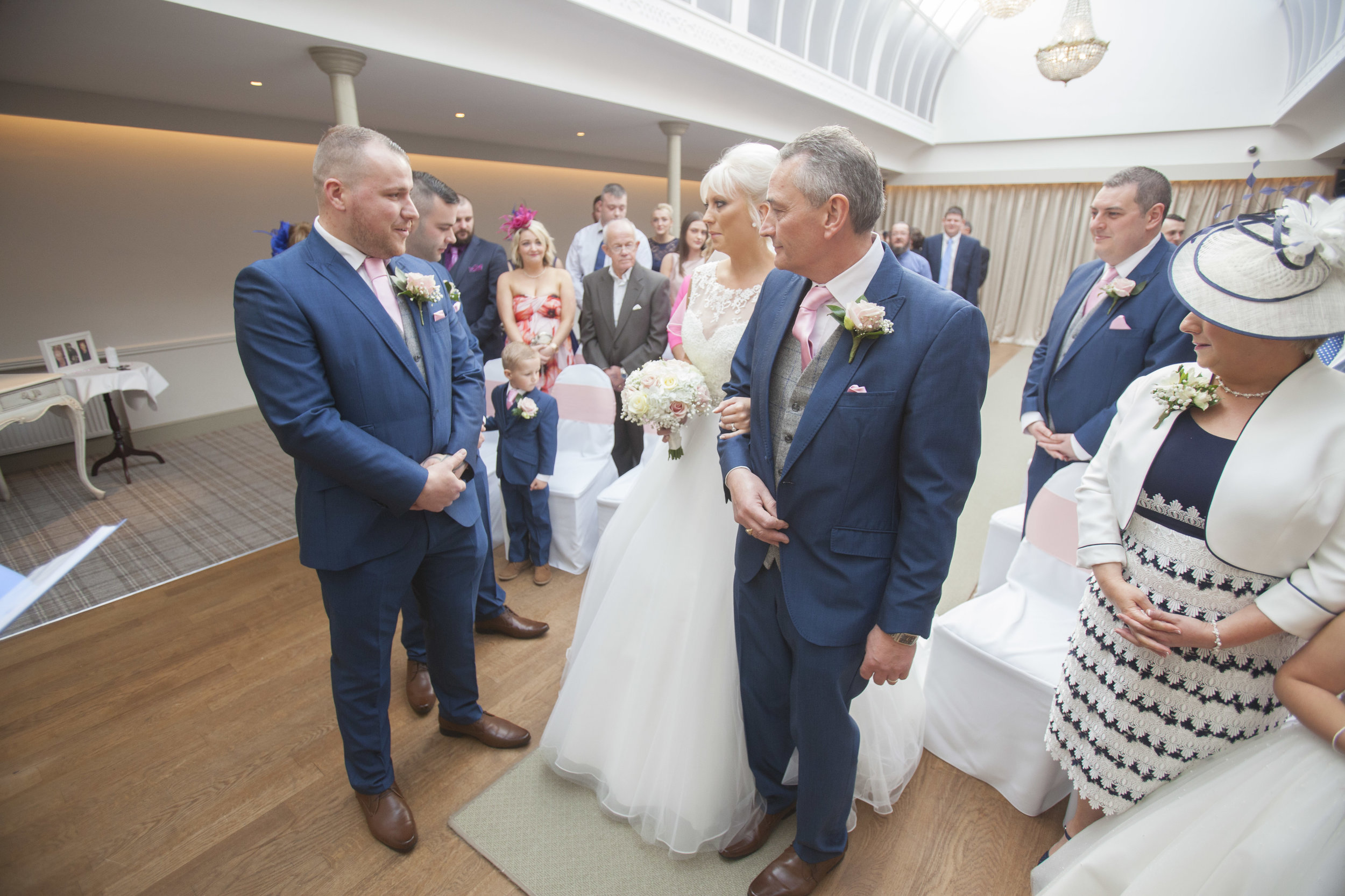 Headlam Hall Wedding