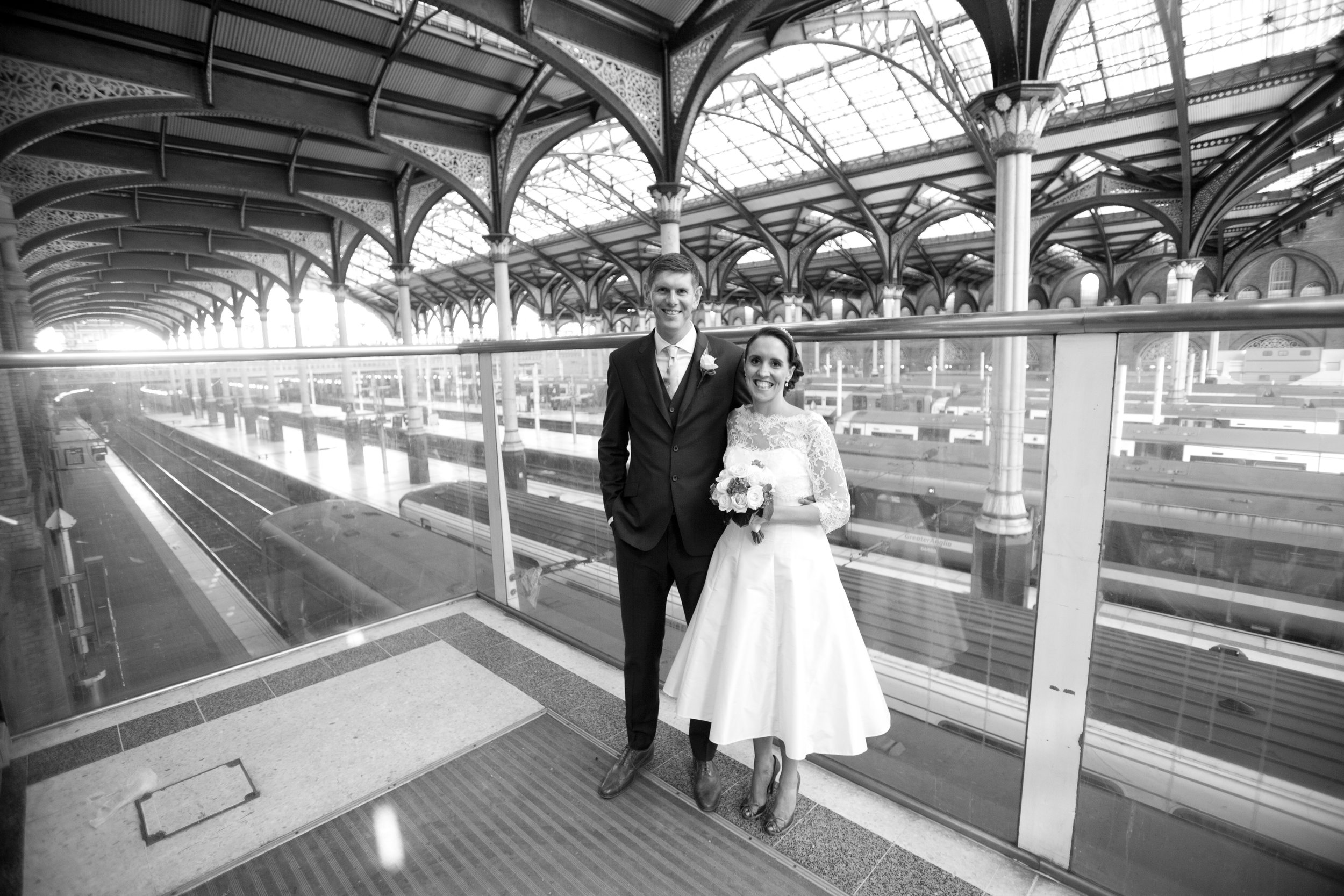 Liverpool Street Station London Wedding
