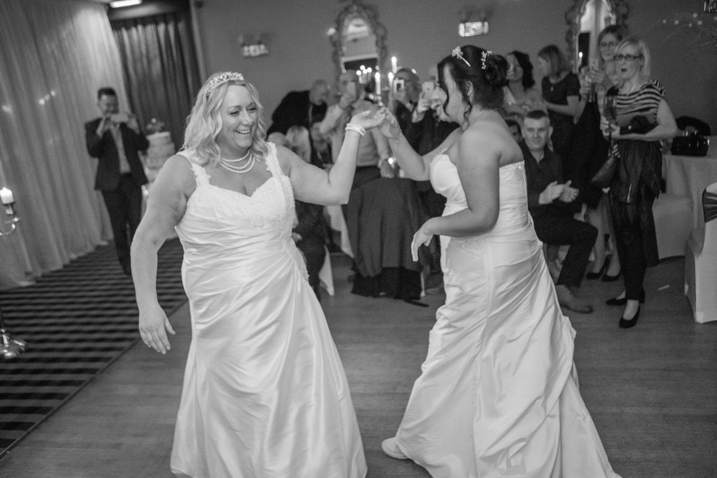 first dance at Bowburn Hall Hotel in County Durham