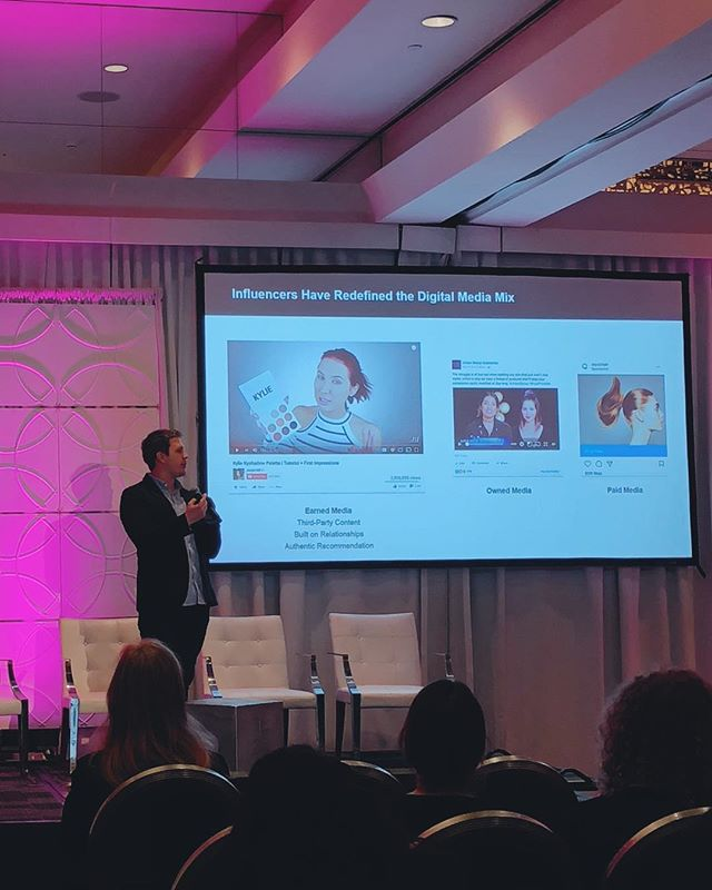 Thanks for having us #beautymoneyLA | Our co-founder @conormbegley presenting in LA today.