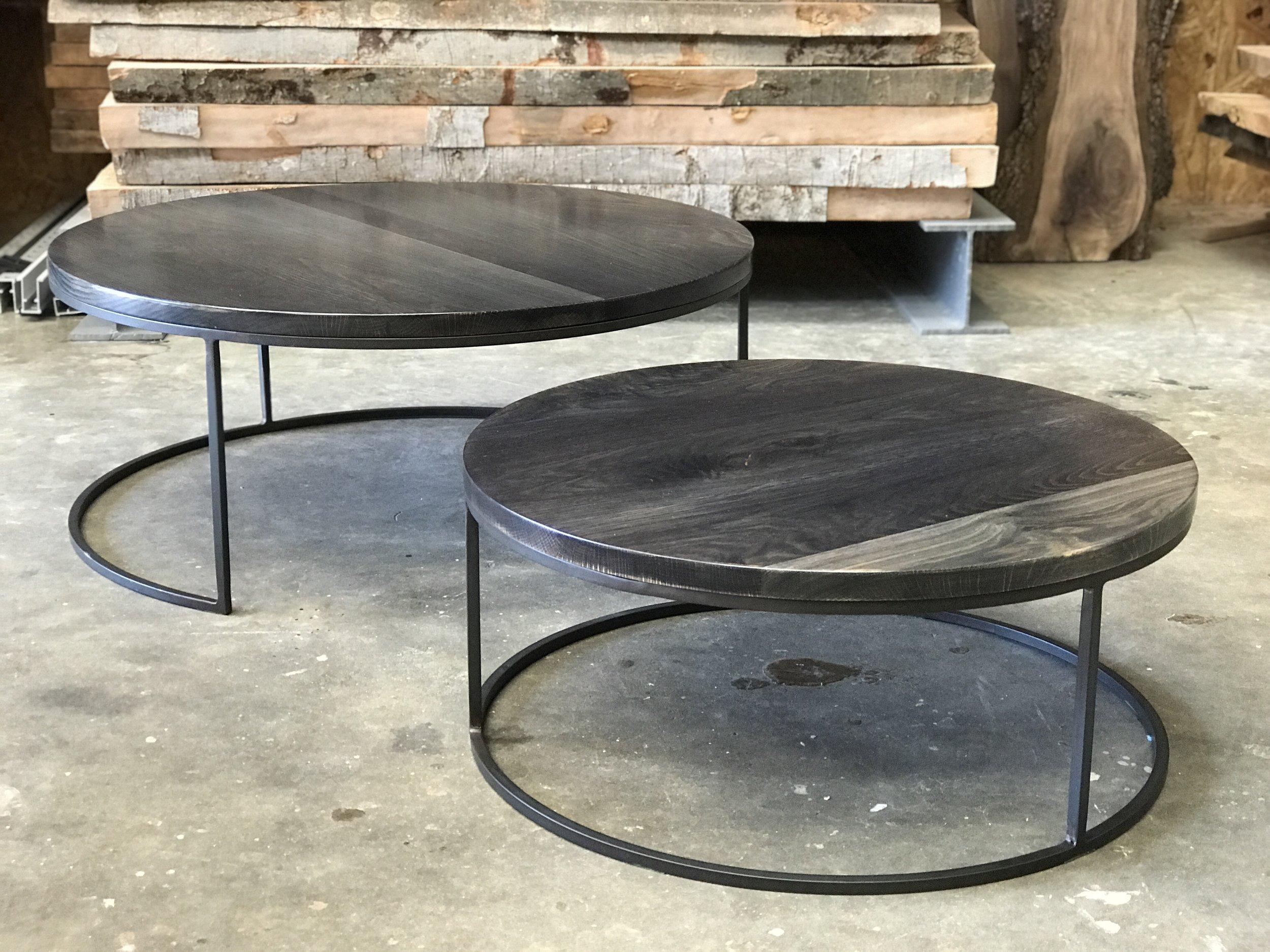 The Jack Ellis Company - White oak nesting coffee table