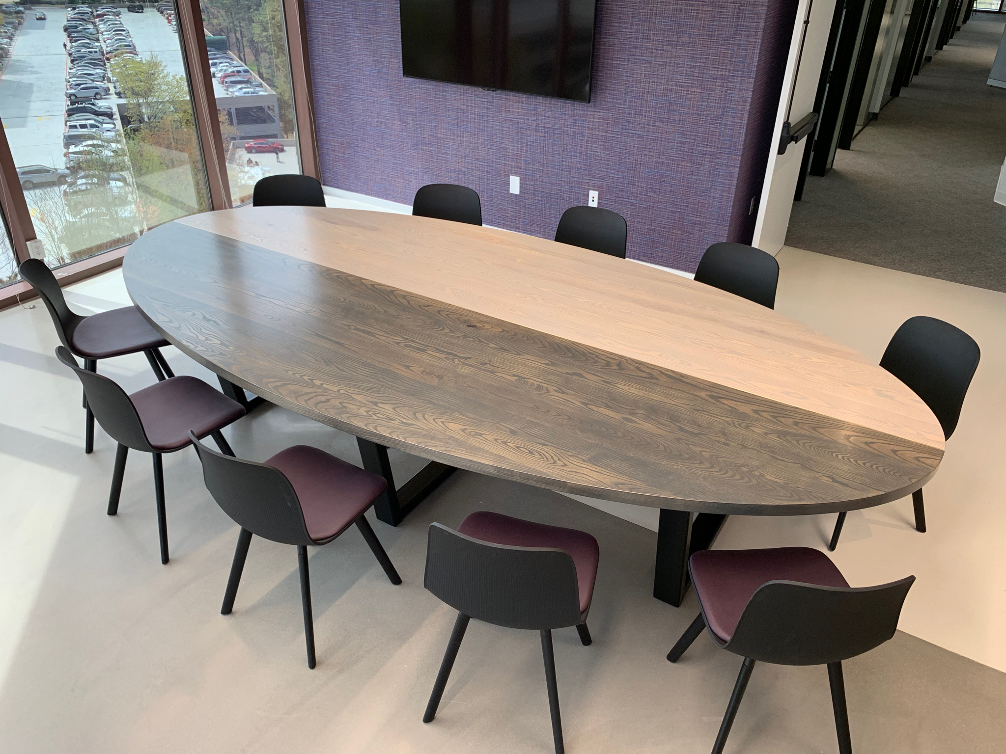 Jack Ellis Company Custom Oval Break room / Conference table