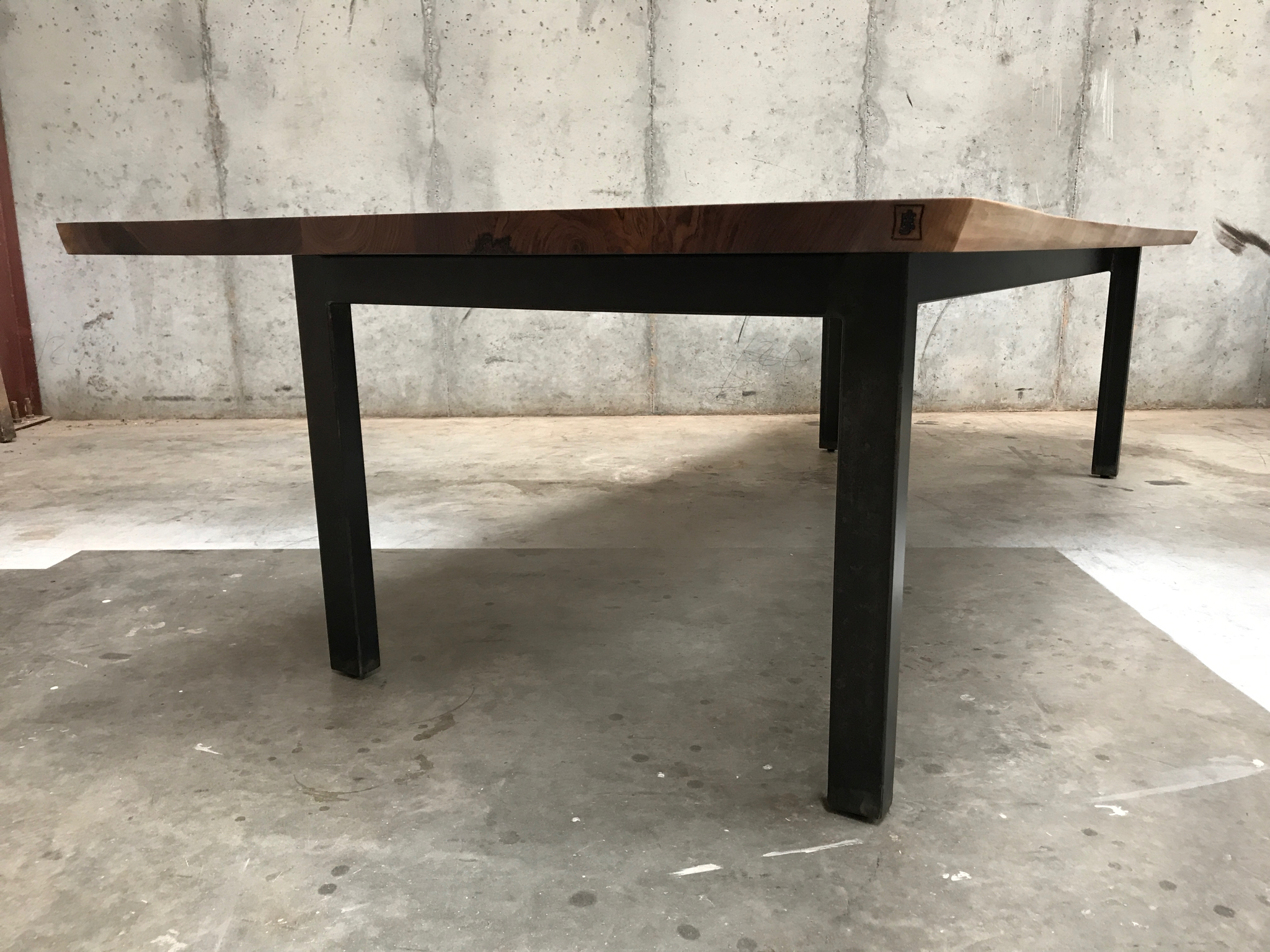 Jack Ellis Company - NCR Live Edge Walnut Conference Table